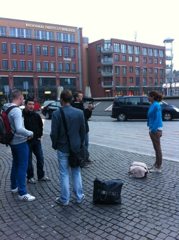 OB behind the scenes, den bosch