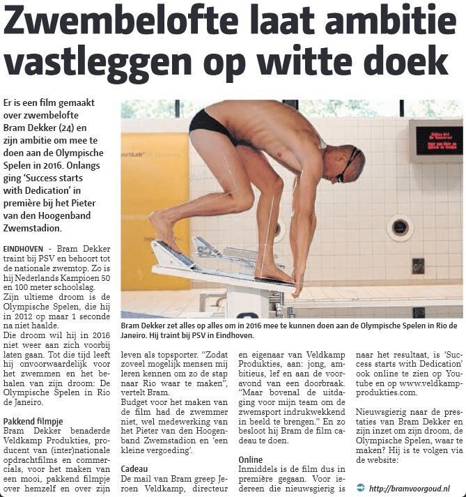 Groot EIndhoven Bram Dekker