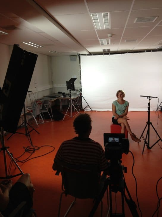TUe film 2 Draaidag Studiosetting