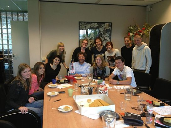 Veldkamp Produkties september afscheid Irina groepsfoto