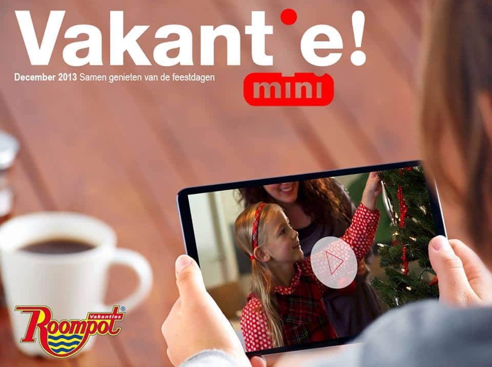 Roompot Vakanties kerst online magazine