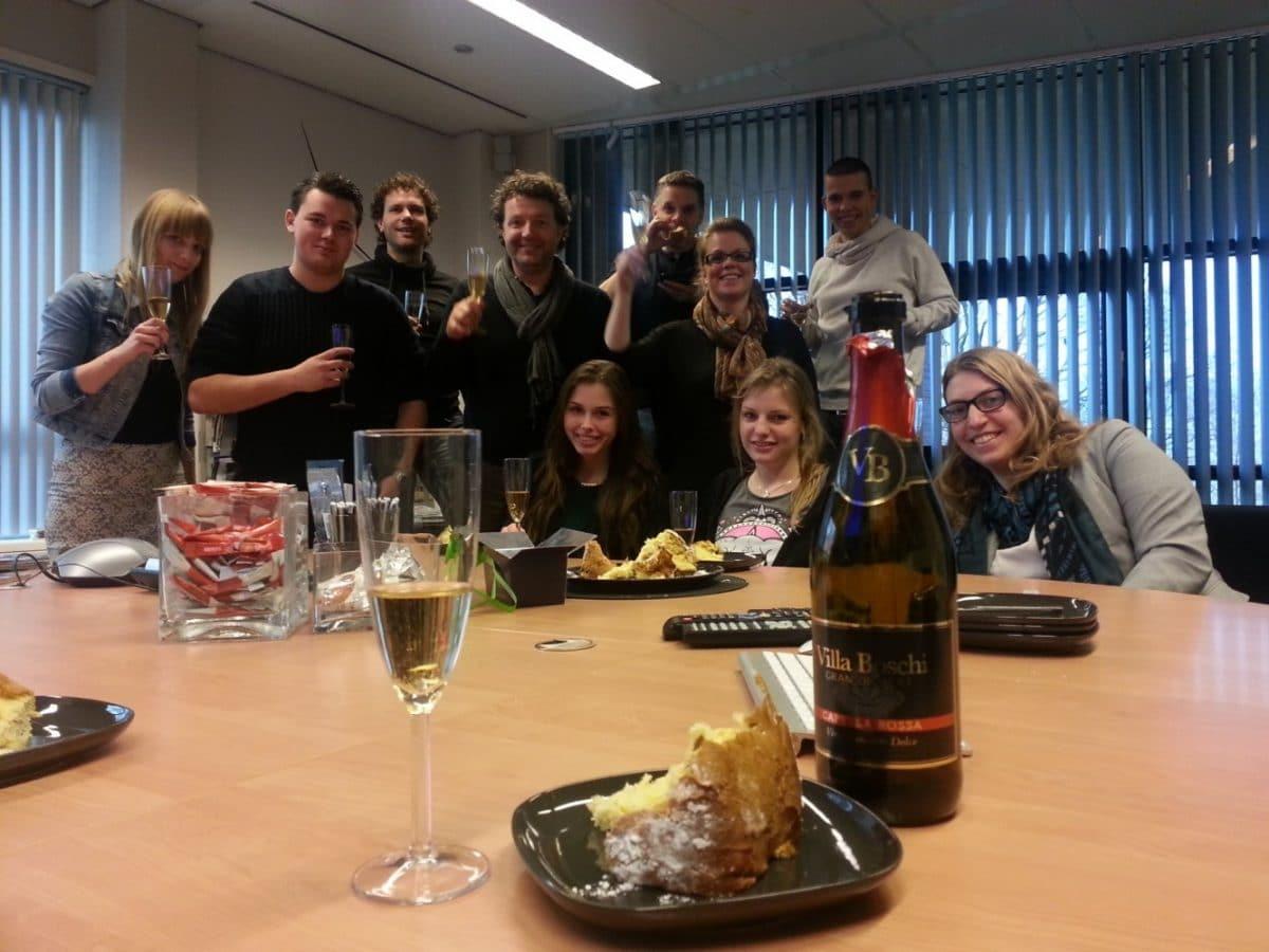 Gelukkig nieuwjaar Veldkamp Produkties