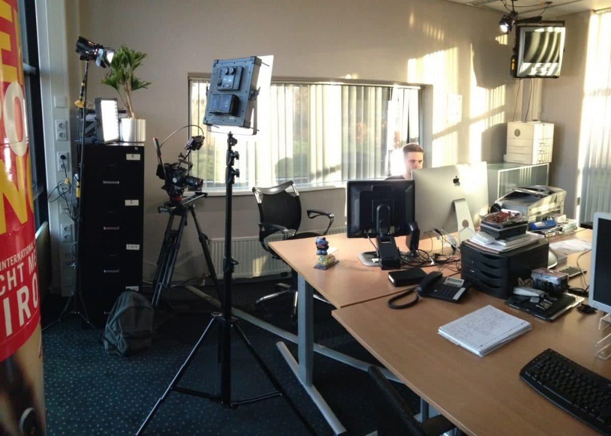 Ondernemer van het Jaar behind the scenes Veldkamp Produkties