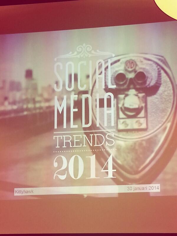 Social media trends 2014 Kittyhawk
