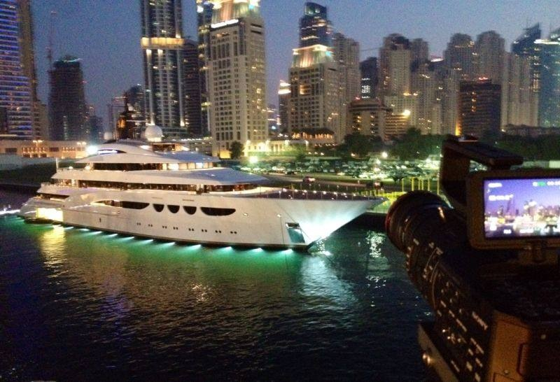 Dubai International Boat Show 2014 Veldkamp Produkties