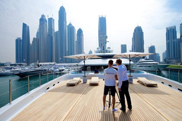 On board Nirvana YachtsXL