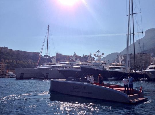 Monaco Yacht Show 2014 blog
