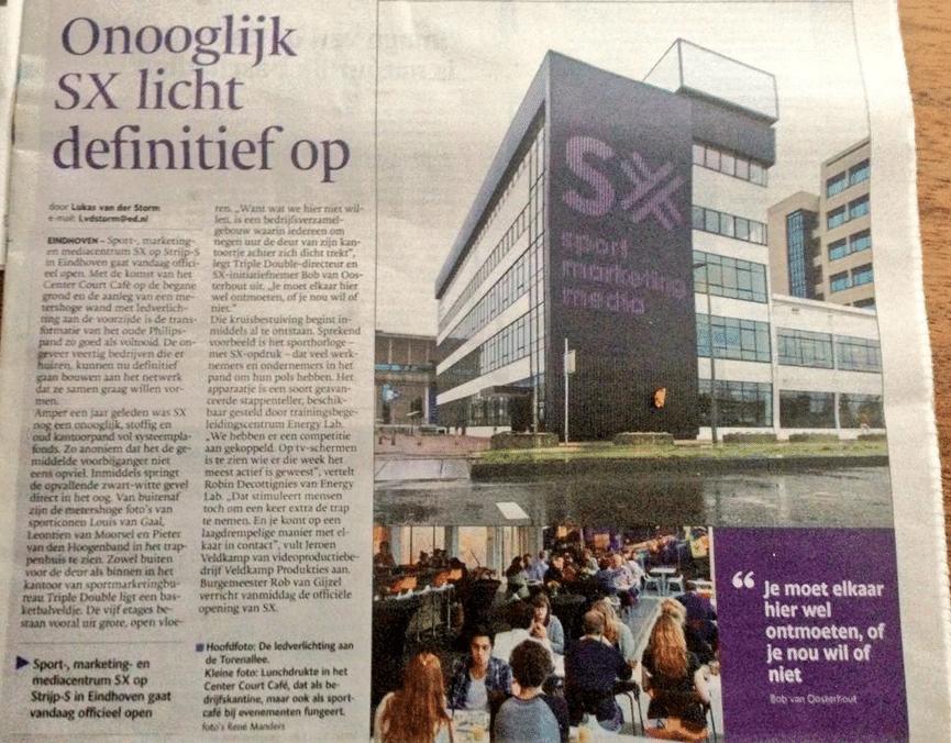 opening SX Eindhovens Dagblad
