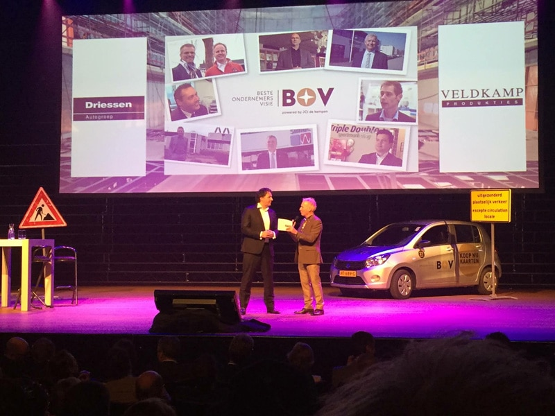 BOV podium