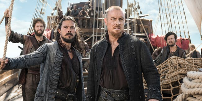 Still uit Black Sails