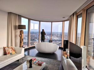 Opnames in een penthouse