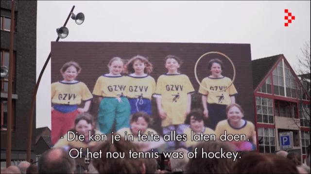 Still uit de videoproductie voor Ireen Wüst