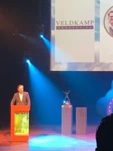 Toespraak tijdens de BOV Awards