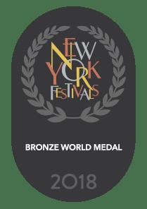 Embleem Bronze World Medal