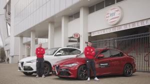 Still uit de Driessen Autogroep Alfa Romeo, PSV video