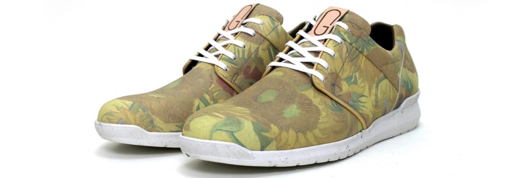 groene van Gogh schoenen