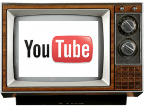 YouTube televisie