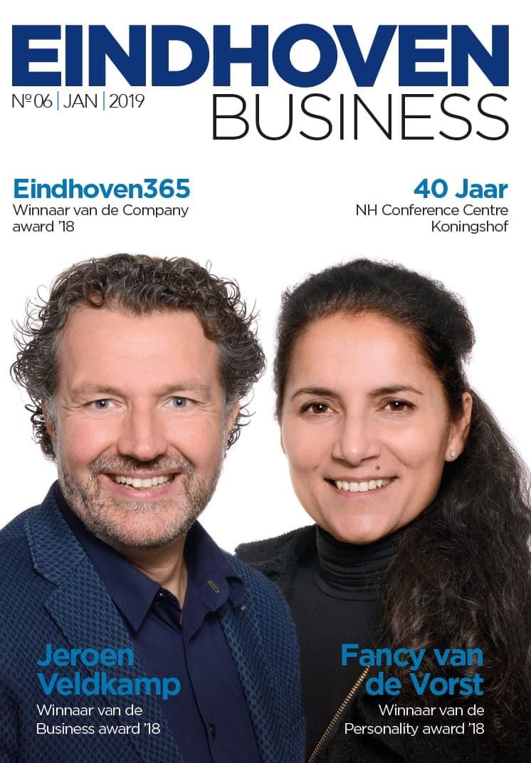 Cover van Eindhoven Business januari 2019
