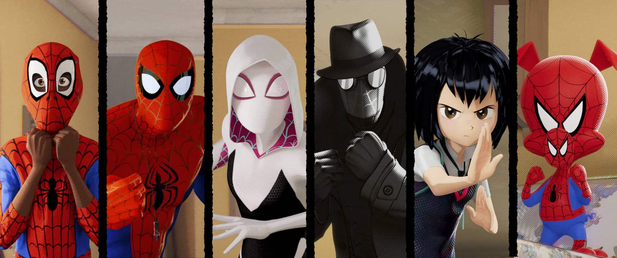 Diverse Spiderman stills