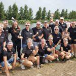 Het team tijdens Sloep Kroepoek