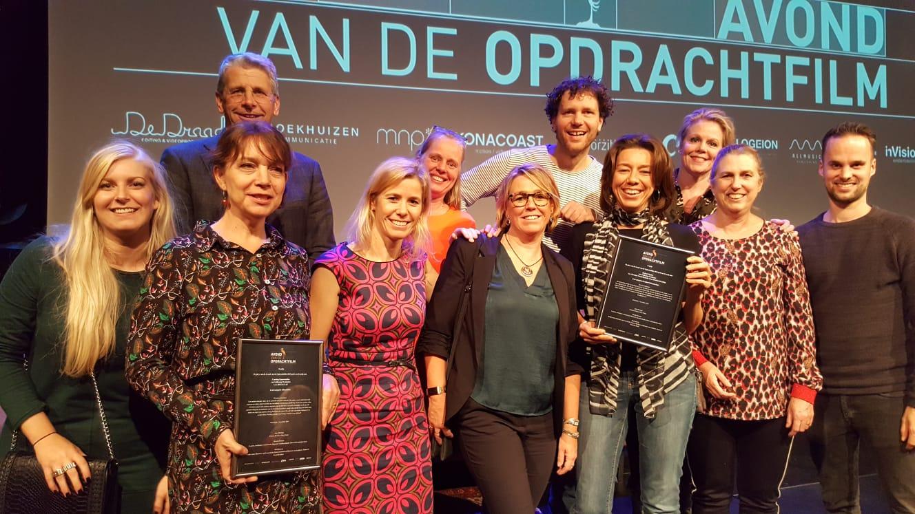 De groep met de Gouden Reiger certificaten