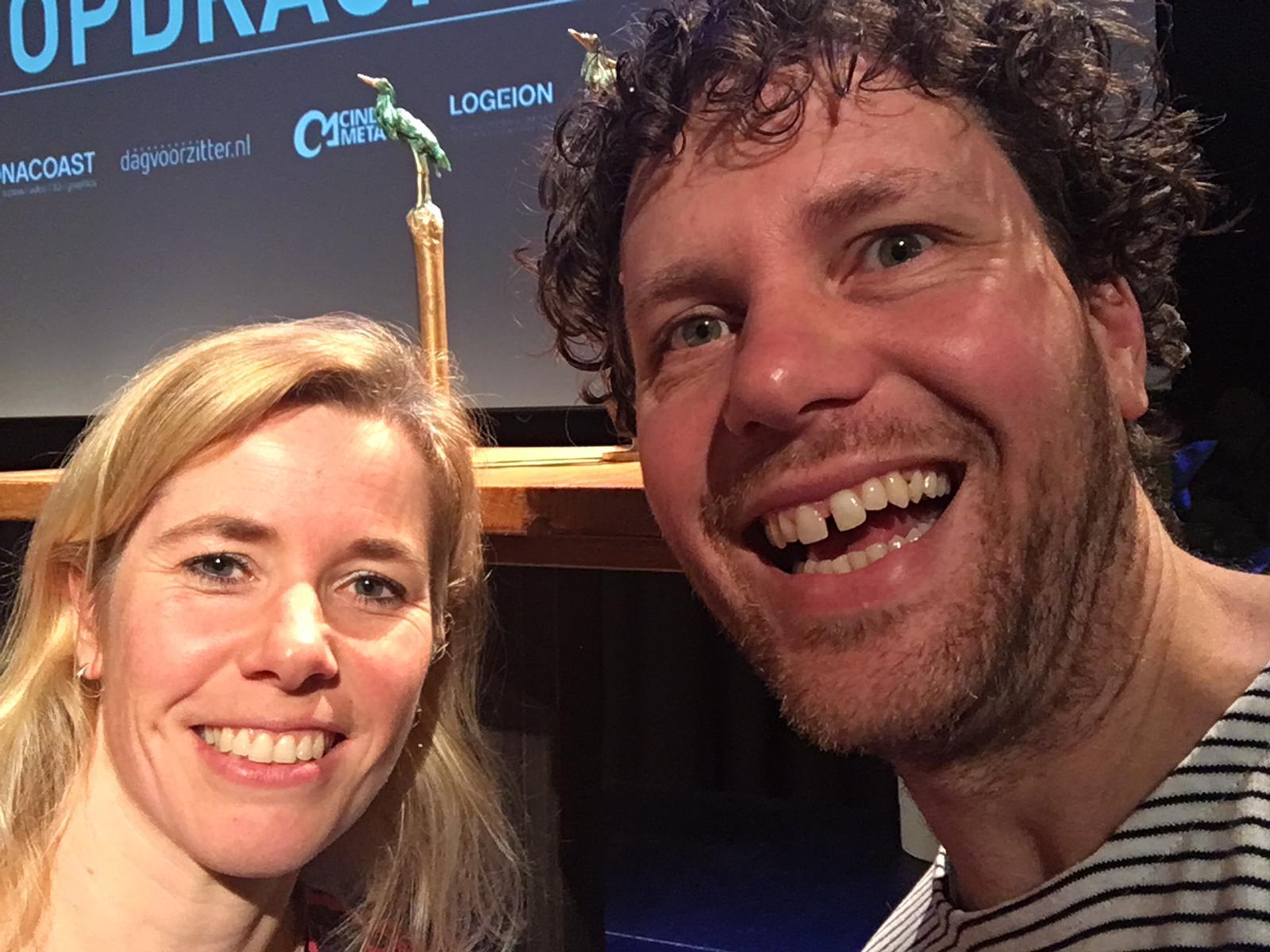 Edwin Huijben, Nathalie de Vijver en de Gouden Reiger