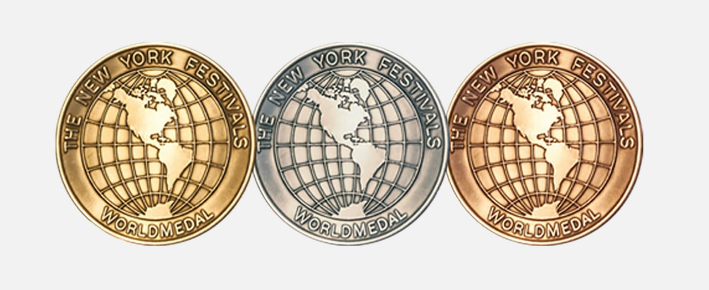 New York Festivals World's Best TV & Film Medals